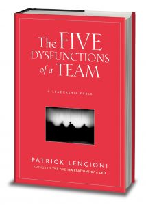 5 Dysfunctions of a team book cover