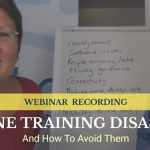 Online Training Disasters and How to avoid them cover